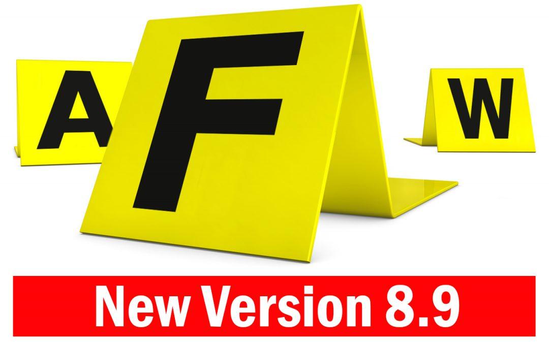 FAW – nuove caratteristiche della versione 8.9